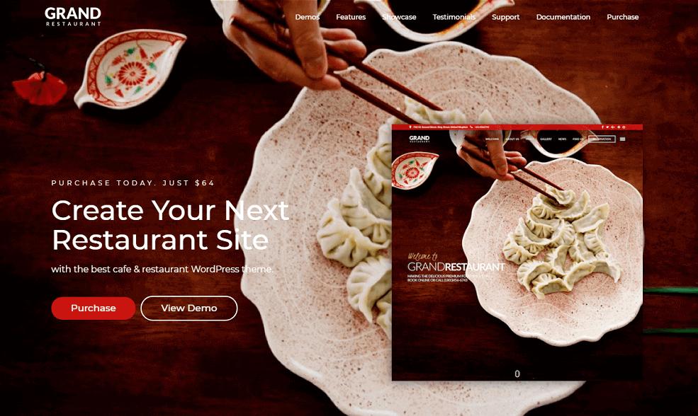 Le thème Grand Restaurant